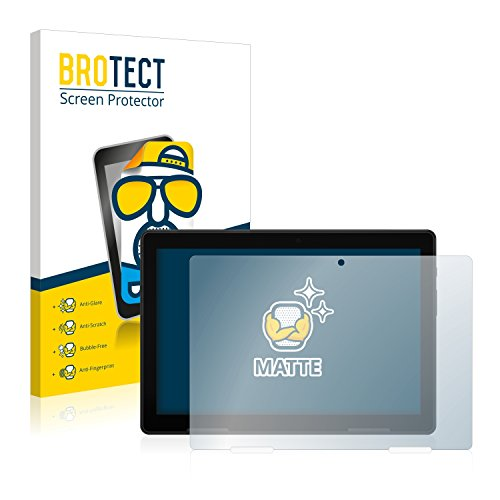 BROTECT 2X Entspiegelungs-Schutzfolie kompatibel mit Medion Lifetab E10604 (MD 61041) Bildschirmschutz-Folie Matt, Anti-Reflex, Anti-Fingerprint