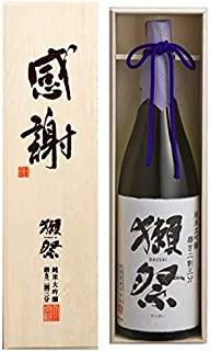 獺祭 (だっさい) 純米大吟醸  磨き 二割三分 感謝! 木箱入 1.8L