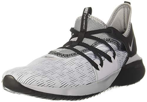 Nike Men Flex Contact 3 Grey/Black Running Shoes-7 UK (41 EU) (8 US) (AQ7484-003)