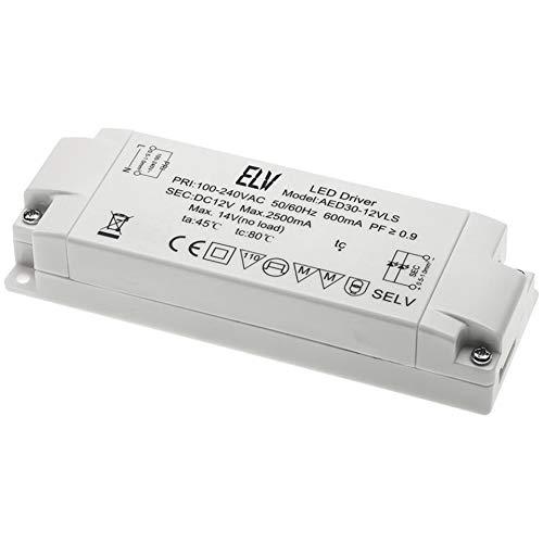 ELV 30-W-LED-Netzteil, 12 V DC