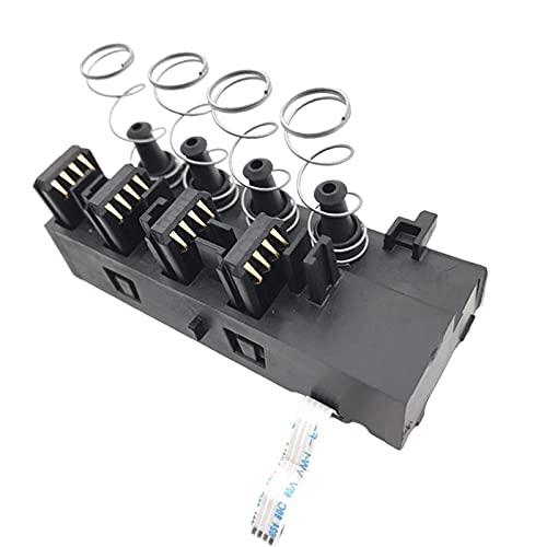 TISHITA Soporte para bolígrafo con Cabezal de impresión, Ordenador 8610, 8620, 8630 Sensor de contactor de Chip en Rack, para HP 8100 8600,