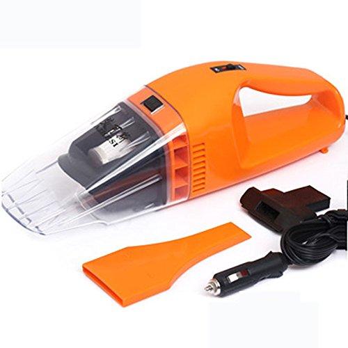 AMYMGLL Humide et sec puissance de l'aspirateur portable de voiture automobile aspirateur d'aspiration forte plastique ABS , orange