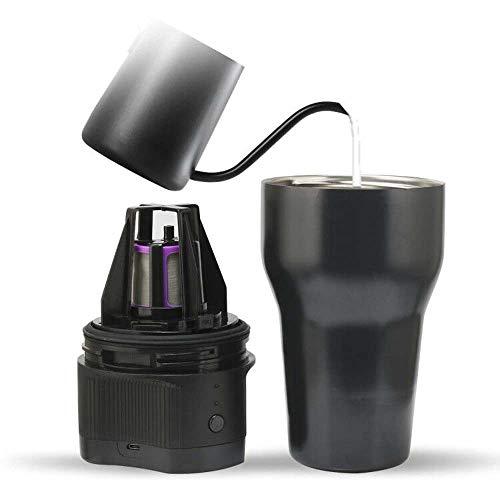 Travel Camping Outdoor Draagbare K Cup Koffiemachine Automatische Stad Grote Capaciteit Koffiezetapparaat Elektrische Usb-Kabel Amerikaanse Oplaadbare Koffiemachine