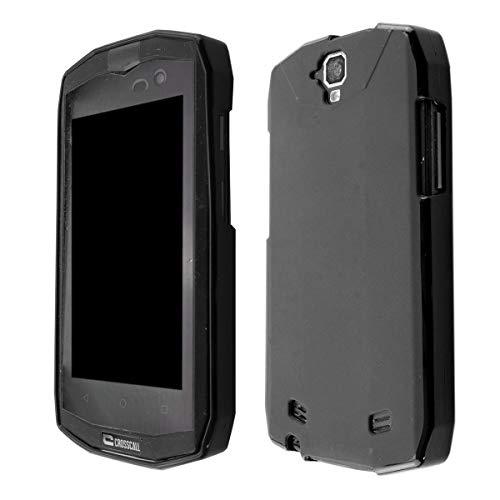caseroxx TPU-Hülle für Crosscall Trekker-M1 Core, Handy Hülle Tasche (TPU-Hülle in schwarz)