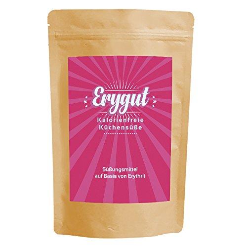 Erythrit Puder 700g von Erygut | kalorienfreier Zucker Ersatz aus Erythritol | Zuckeralternative für Diät und zum Abnehmen geeignet | Erithrit Light
