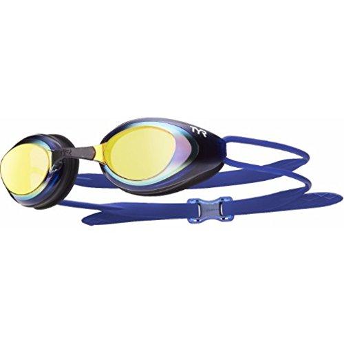 TYR Unisex's Blackhawk Racing polarized Low Profile Swimming Goggles,...