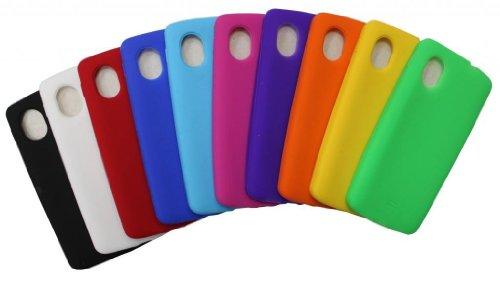 Accessory Master - Custodia in Silicone per LG Optimus L3 E400, Confezione da 10, Colore: Multicolore
