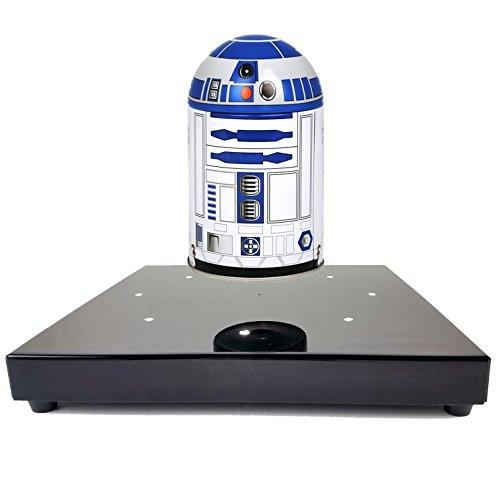 MagneticLand Base électromagnétique avec R2D2 Maxi Format en lévitation - Star Wars