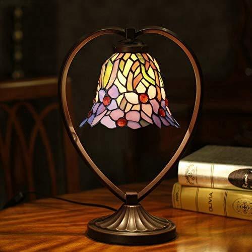 MISLD Crystal Chandelier - Lámpara de pared LED, lámpara de mesa, lámpara de mesa americana de boda, orquídea, cristal pequeño, lámpara decorativa para dormitorio, 7 pulgadas
