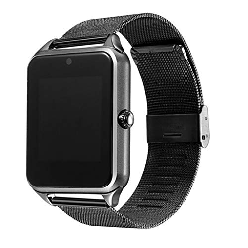 JingJingQi smart watch Nieuwe Z60 Smart Watch GT08 Plus Metalen Band Bluetooth Pols Smartwatch Ondersteuning Sim TF Card Voor Android IOS Horloge Multi talen