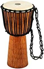 For players of any skill level — you don't have to be a trained musician to play the Meinl Headliner Series djembe — this drum can be enjoyed for theraputic purposes, playing jam sessions, participating in drum circles or performing with a band Carve...