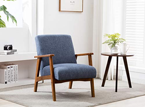 Porthos Home Layla Accent Chair with Beech Wood Legs, Arms and...