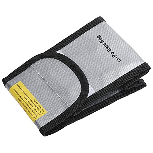 SALUTUY Bolsa para Archivos de Documentos, Bolsa Multiusos Segura para baterías, ignífugo ignífugo para Objetos de Valor, Bolsa de Almacenamiento para baterías