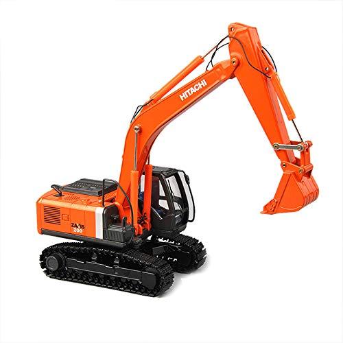 Colección Diecast Escala 1/50 ZH200 Excavadora Modelo Fundido Pistas