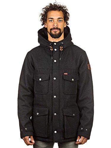 Hemlock Wool Jacket charcoal heathe