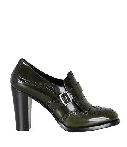 CHURCH'S - Zapatos de cordones para mujer verde militar