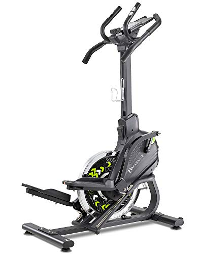 MARNUR Stepper Elliptical Machine Trainer Elliptical Climber with 20LBS Large Flywheel & Crank Technology for Exercise Workout at Home