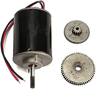 Alternative Energy Generators | DC 12V|24V Small Wind For Turbine Generators Permanent Magnet Motor With Gear 108mm/4.3 inch Popular | by CUSODI