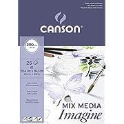 Canson - Bloc a Dessin Imagine, Format A1, 200 g/m2