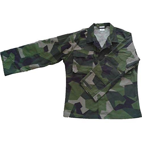 Original schwedische Armee Feldjacke Jacke schwedentarn M90 camo jacket 180/85