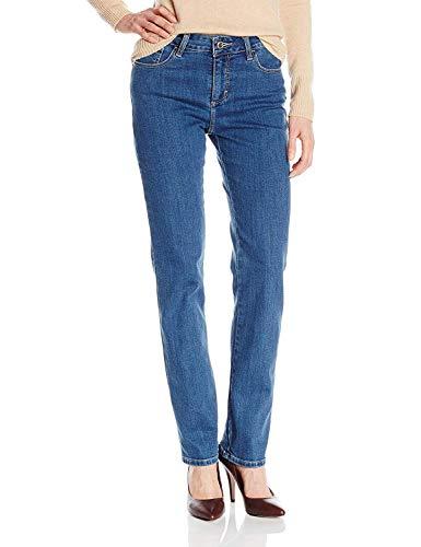 Lee Women's Missy Classic Fit Monroe Straight-Leg Jean, Seattle, 14