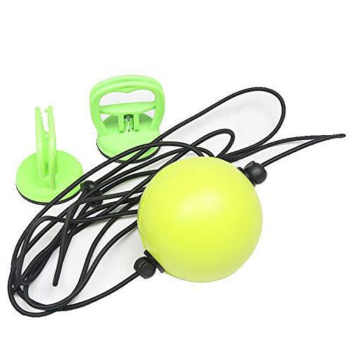 FBSPORT Box-Reflexball Reflexball für Boxing-Training, Reflex-Ball mit 2 starken Vakuumsaugern, Boxausrüstung Training für Erwachsene/Kinder