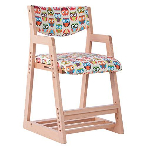 Canapés Meubles pour Tout-Petits Chaise d'étude en Bois pour Enfants Tabouret pour Enfant Chaise de Chambre pour Enfant Chaise étudiante en Bois Massif Chaise de Bureau en Bois à Domicile