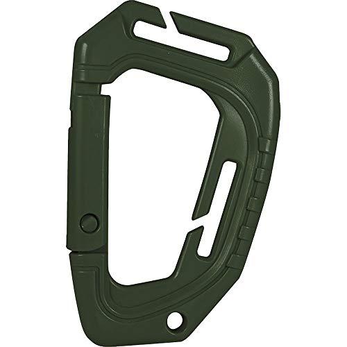 VIPER Tactical-Mousqueton Special Ops-en ABS/pour Passant Molle-Pas adapté pour l'escalade-Vert Adulte Unisexe, Green, Taille Unique