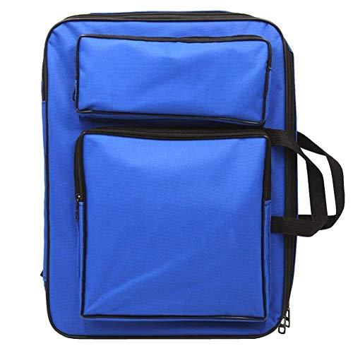 Margueras - Bolsa de artista de 8 K para dibujo, mochila de arte, color azul