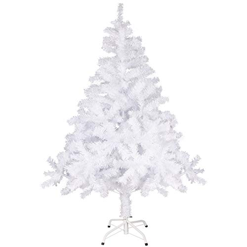 Minterest Arbol de Navidad Blanco, 150cm Árbol de Navidad B