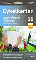 Vaestra Maelaren/Hjaelmaren 1:90 000: Cykelkartan
