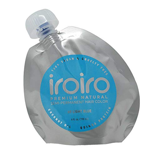 IROIRO Premium Natural Semi-Permanente Haarfarbe 60 Hellblau