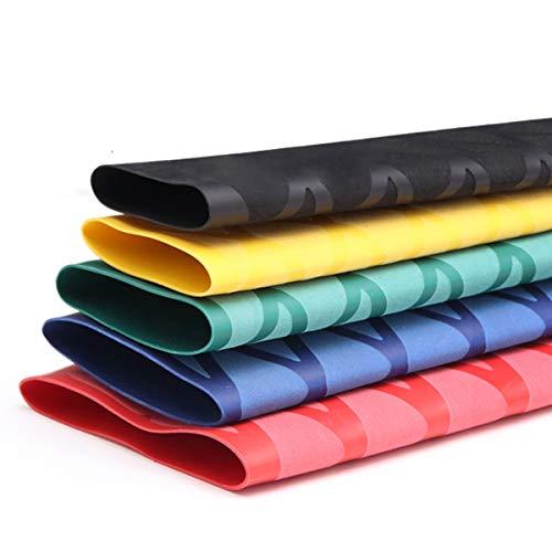 MHUI PVC-Schrumpfschlauch 50 mm Durchmesser Für Die Isolierung Wärmeschrumpfverbinder 1 M (5 Farben Erhältlich),Blau