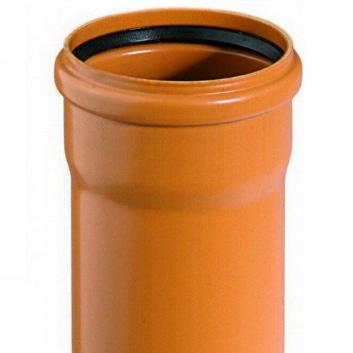 Kanalrohr KG Rohr DN 150/160 Baulänge 1000mm