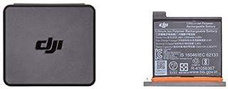 Dji Osmo Action Part 1 Accu voor DJI Osmo Action Camera, Maximale Capaciteit 1300 mAh, Houder voor Batterijen en Microsd-Kaart, Grijs