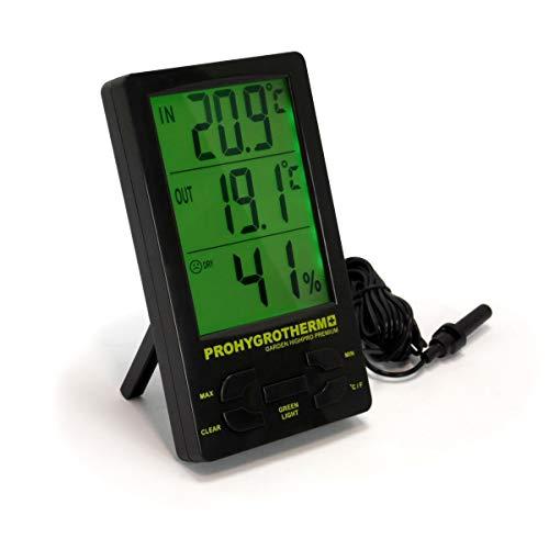 Garden HighPro Thermohygromètre (Composants de Haute qualité),