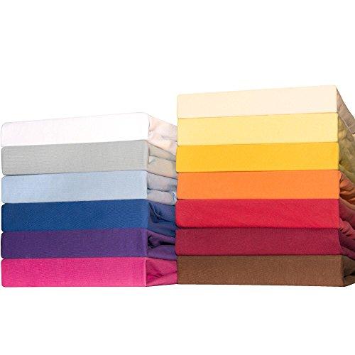 CelinaTex Lucina for Kids Baby Spannbettlaken Dreierpack 60x120 - 70x140 cm pink Baumwolle Spannbetttuch