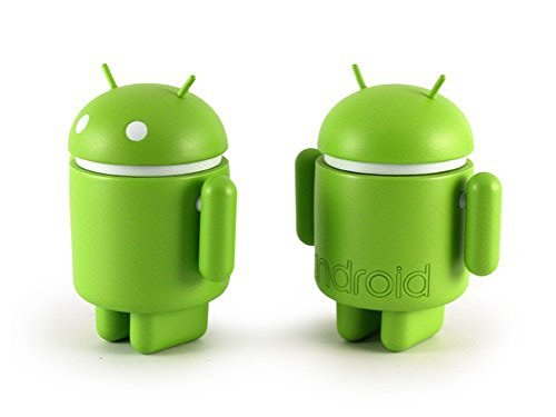 Dyzplastic Android Mini Collectible Figure, Standard Green