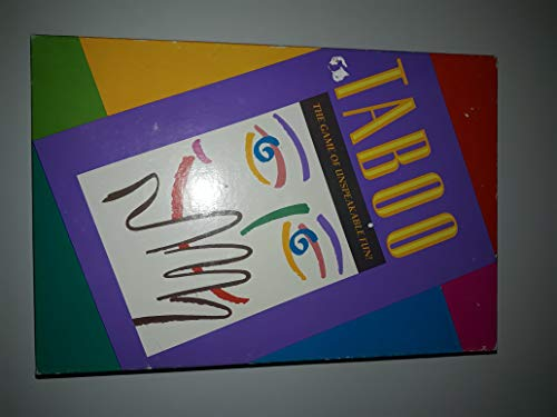 Milton Bradley 1989 Taboo The Game of Unspeakable Fun