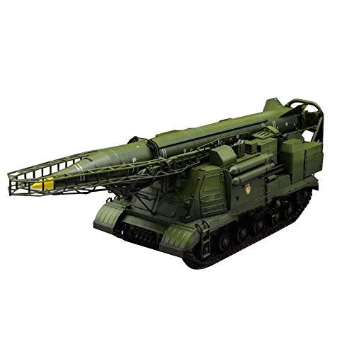 X-Toy Kits De Modelos De Plástico De Rompecabezas De Vehículos Militares, Lanzador EX Soviético 2P19 De Escala 1/35 con Modelo De Misil R-17, 14,4 X 3,9 Pulgadas
