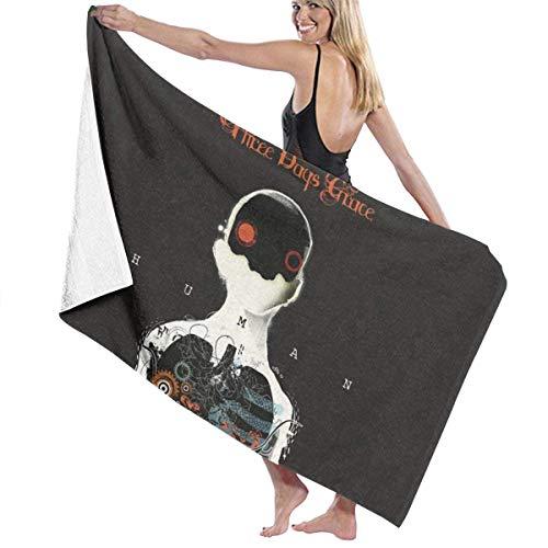 Shichangwei Towels Three Days Grace Bath Towel Super Soft Plush Cotton Beach Towel Bath Towel 31 Inches 51 Inches