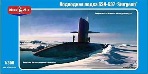 STURGEON, U.S. NUCLEAR SUBMARINE 1/350 MICRO-MIR 350-004