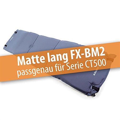 Fuxtec Bollerwagenmatte FX-BM2 aufblasbar mit Rückenpolsterung, für Bollerwagen