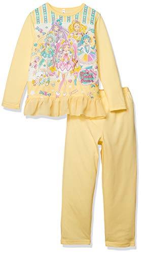 [バンダイ] パジャマ スター☆トゥインクルプリキュア 玩具付きパジャマ ガールズ 48871 クリーム 日本 120 (日本サイズ120 相当)