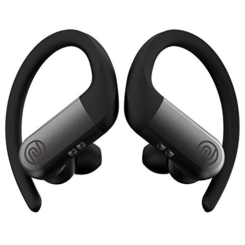 Noise Shots Rush Wireless Bluetooth Earbuds with 12mm Speakers & 3 EQ Modes for Gaming and Workout, 24 Hours Playtime, No Rain or Sweat Damage (Charcoal Grey)