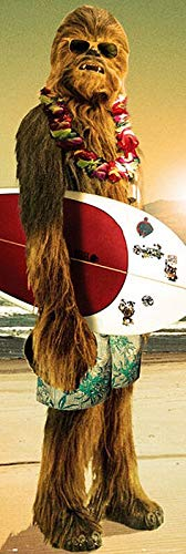 Star Wars Chewbacca - Surfin' Unisex Poster Multicolour Papier 53 x 158 cm Chewbacca, Fan-Merch, Film