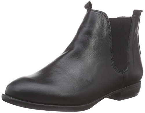 Inuovo Damen Stalker Chelsea Boots, Schwarz (Black-Black Elastic), 36 EU