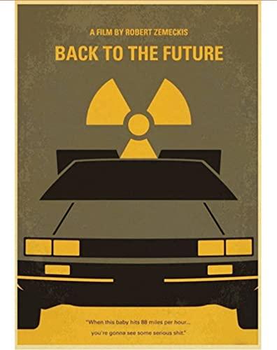 LAIDAO Poster su Tela Minimal Movie Poster V per Vendetta/Django Unchained/Blade Ruuner Retro Poster Pittura per Casa/Camera dei Bambini/Bar Decor 50 * 70 Cm (Senza Cornice)