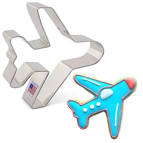 Ann Clark Cookie Cutters Ausstechform Flugzeug/Flugzeug, 10,2 cm