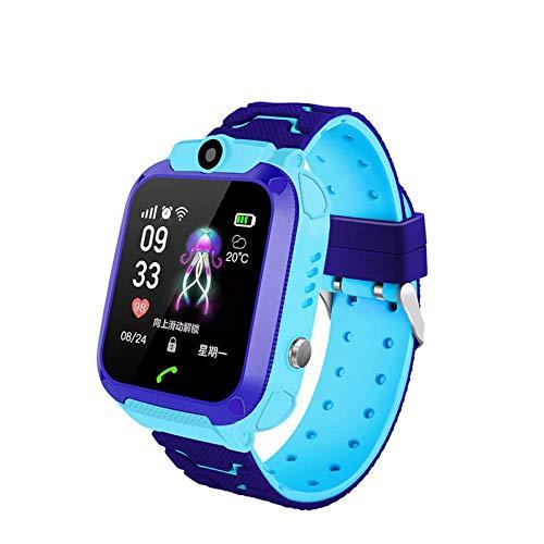 Wasserdichte Kinder-Smartwatch SOS Anti-Verlust Smartwatch Baby 2G SIM-Karte Uhr Anruf Ortung Tracker Kinder Geschenk für iOS Android
